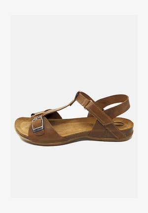 CONSTANCE  - Sandalias - marrón