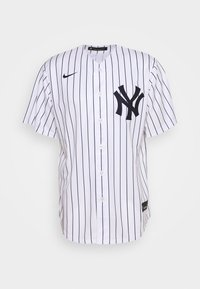 Nike Performance - MLB NEW YORK YANKEES OFFICIAL REPLICA HOME - Klubové oblečení - white/navy - 4