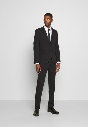 GENTS TAILORED FIT BUTTON SUIT - Suit - black