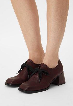 VELIA - Lace-up heels - magenta