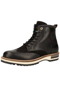 Pantofola d'Oro - Botines con cordones - black - 2