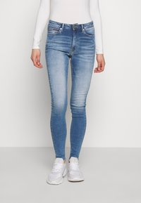 Tommy Jeans - SYLVIA SUPER ANKLE - Jeans Skinny Fit - blue denim - 0