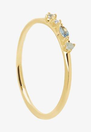 Ring - gelb vergoldet
