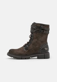 Mustang - Lace-up ankle boots - dunkelbraun - 1