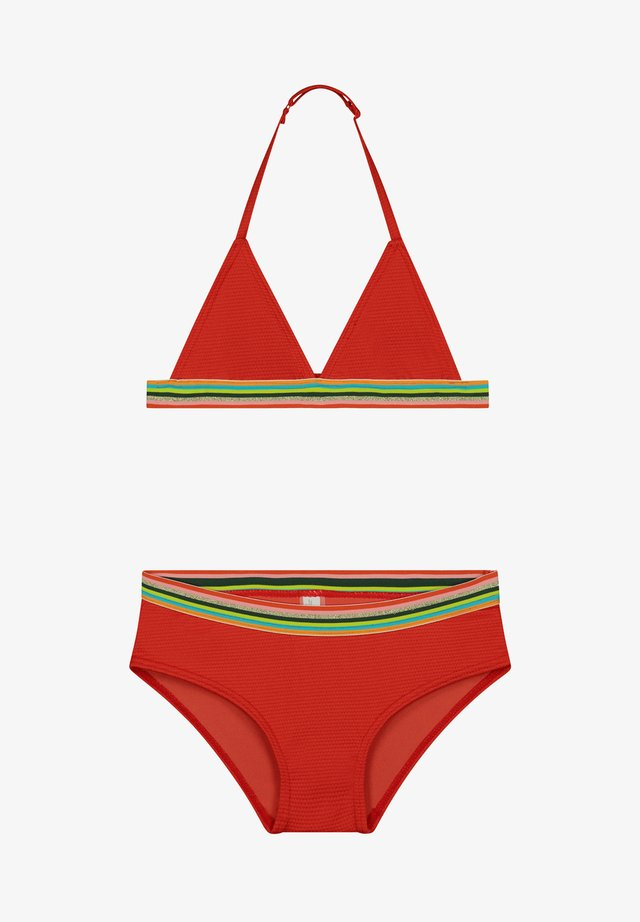 RAINBOW - Bikini - tropic red