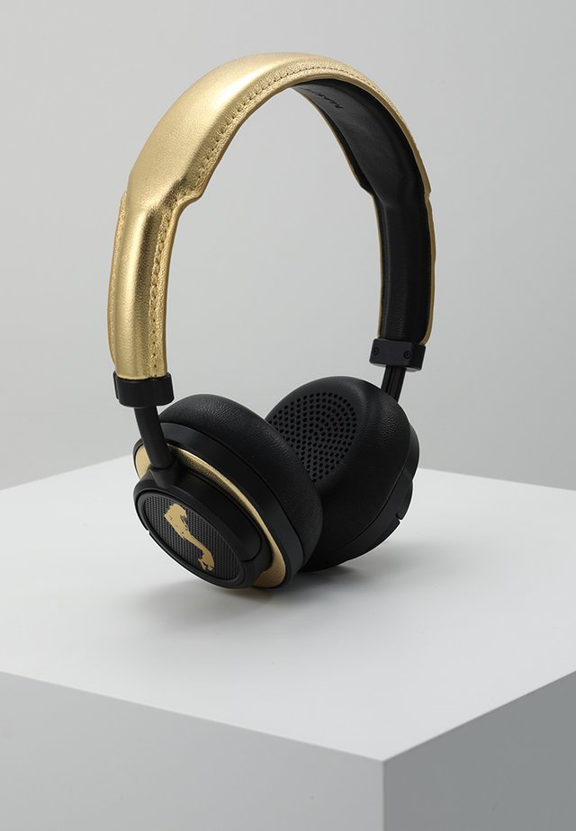 MW50 WIRELESS ON-EAR - Hörlurar - black / gold