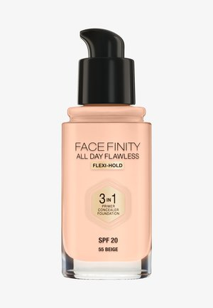 ALL DAY FLAWLESS 3 IN 1 FOUNDATION - Fond de teint - 55 beige