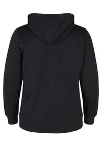 Active by Zizzi - Zip-up sweatshirt - black - 6