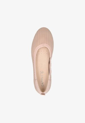 Ballet pumps - rose knit