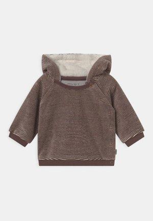 CAIO UNISEX - Zip-up sweatshirt - brown