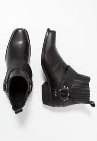 KIOMI - Cowboy/biker ankle boot - black - 1