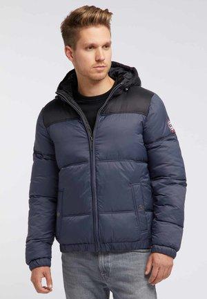 Winter jacket - black/navy