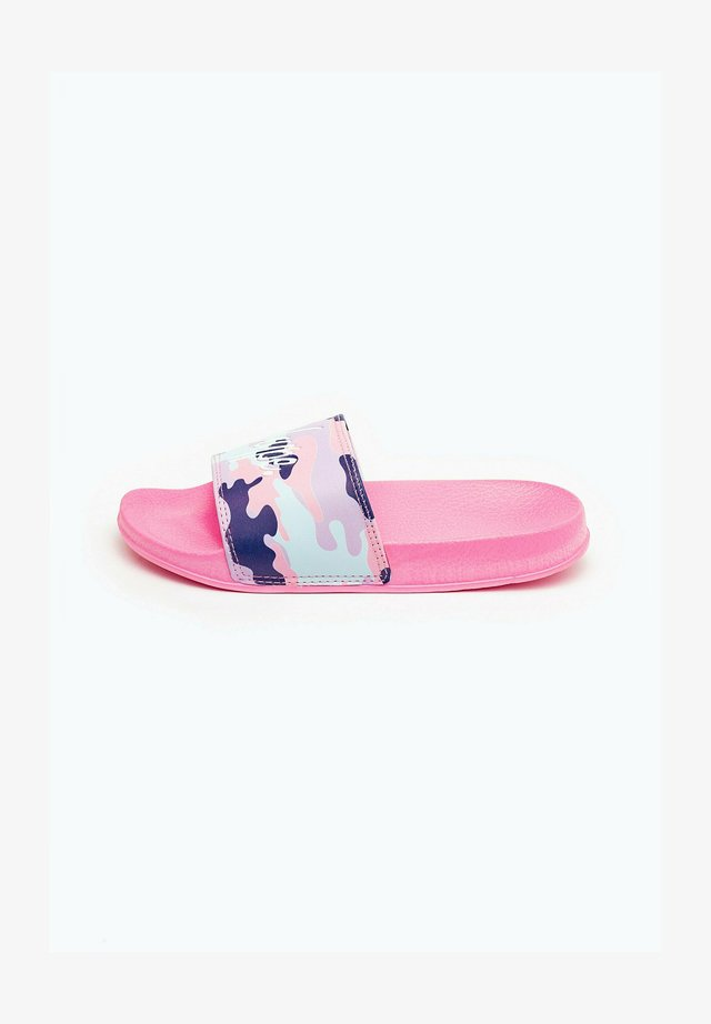 PASTEL CAMO - Pool slides - pink
