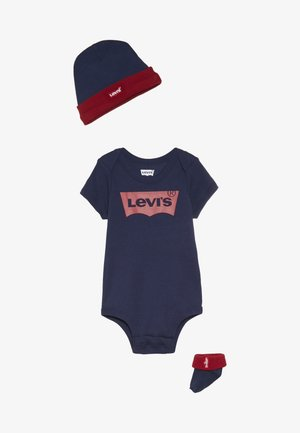 CLASSIC BATWING INFANT SET - T-shirt con stampa - dark blue