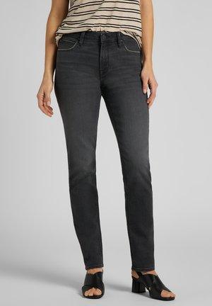ELLY - Slim fit jeans - black flow