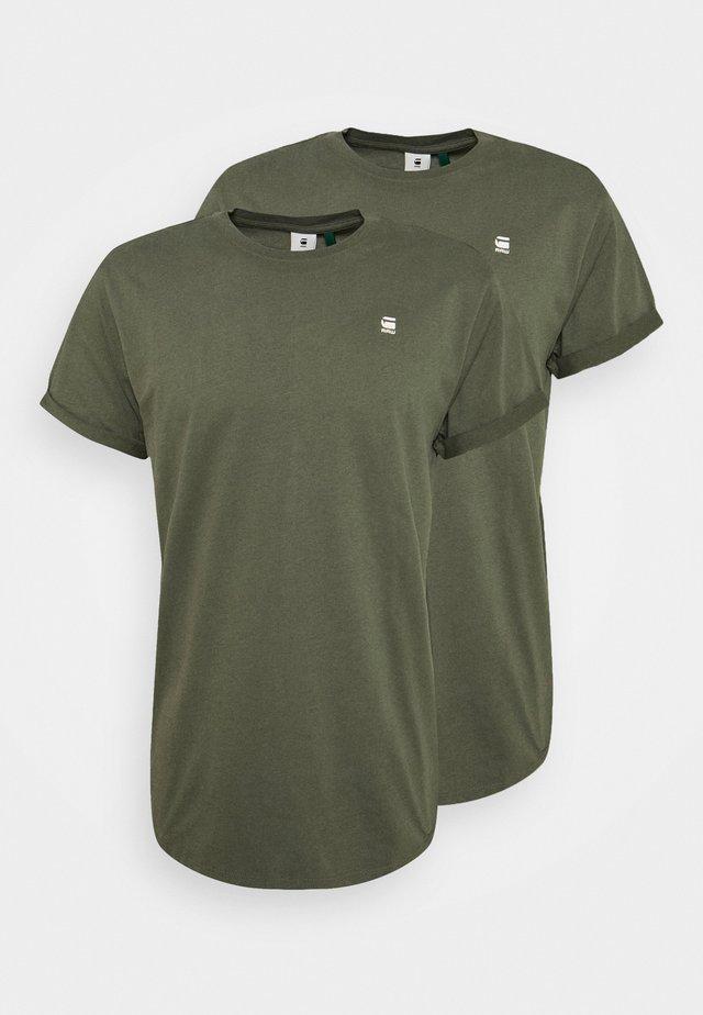 LASH 2 PACK - T-Shirt basic - wild rovic