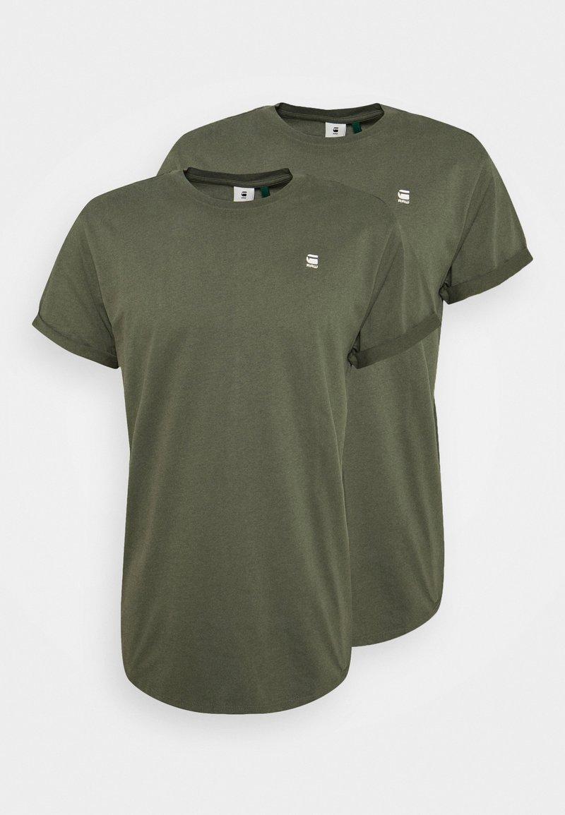 G-Star - LASH 2 PACK - T-shirt basique - wild rovic