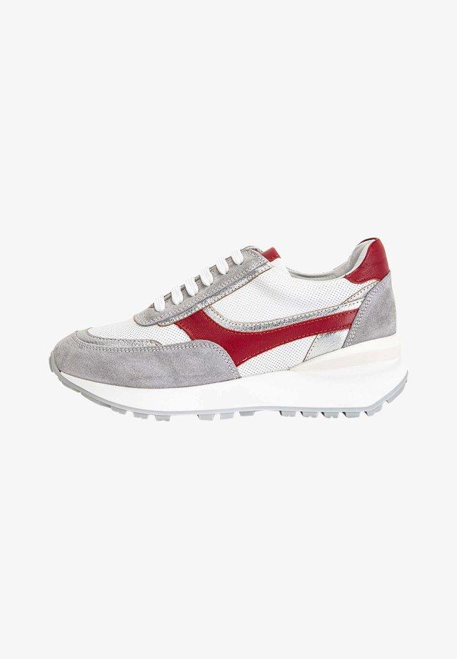 Sneakers laag - silver multi slm