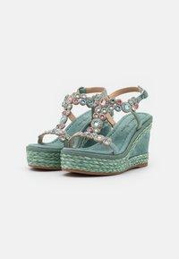 Alma en Pena - Platform sandals - mint - 2