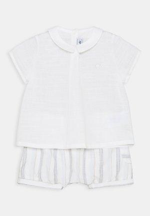 ENSEMBLECOURT5 SET - Print T-shirt - beige chiné