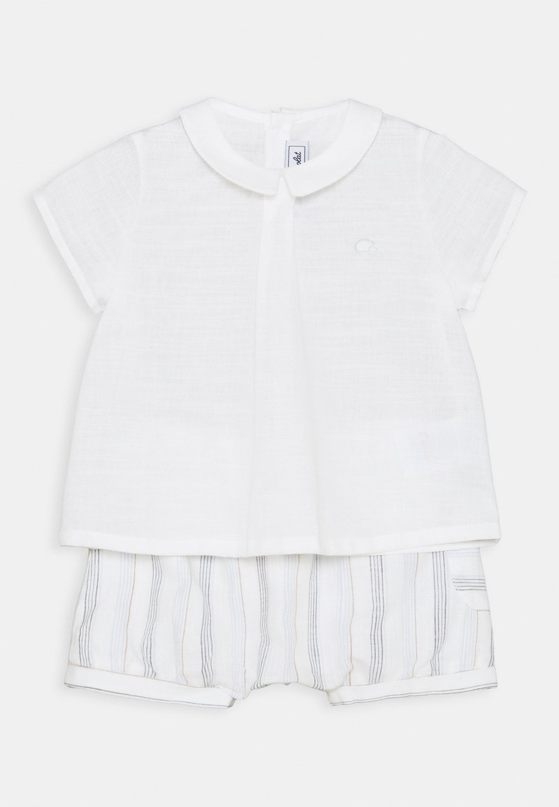 Tartine et Chocolat - ENSEMBLECOURT5 SET - Print T-shirt - beige chiné