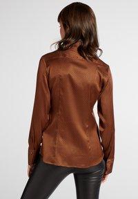 Eterna - Button-down blouse - bronze - 1
