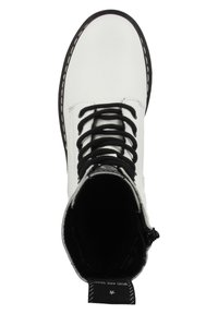 Tamaris - Lace-up ankle boots - white - 2