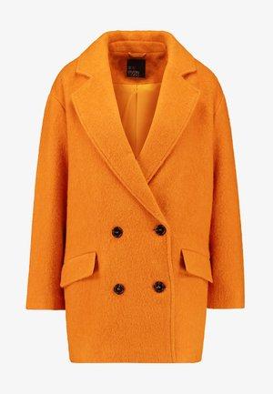 Classic coat - mustard