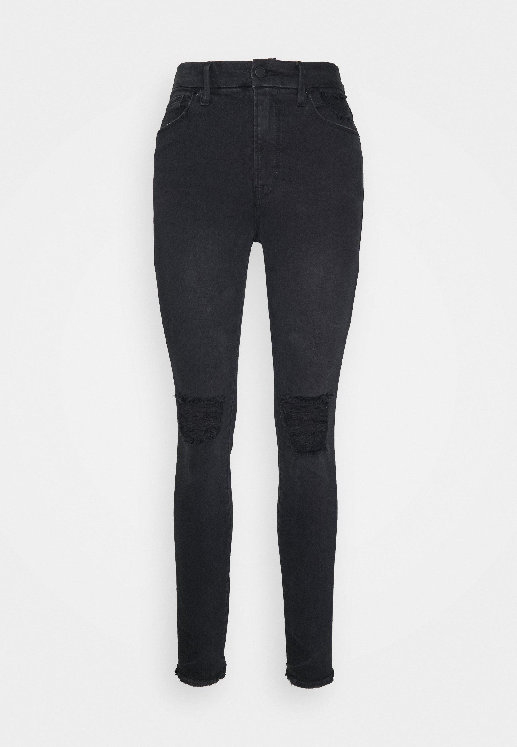Women WAIST PRINTED POCKET BAGS - Jeans Skinny Fit