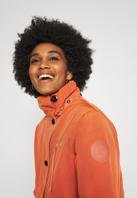 G-Star - NEW DUTY SHORT - Parka - dusty royal orange