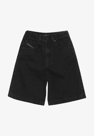 PBRON - Denim shorts - denim nero