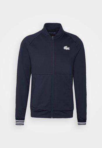 TENNIS JACKET - Giacca sportiva - navy blue/white