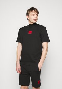 HUGO - DABAGARI - T-shirt basique - black - 0