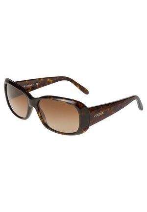 Sonnenbrille - dunkelbraun