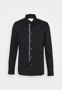 Calvin Klein Jeans - LOGO TAPE - Shirt - black - 0