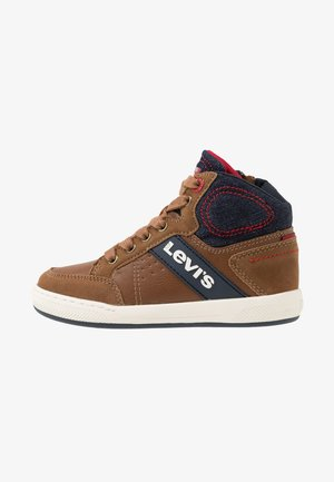 NEW MADISON MID - High-top trainers - cognac