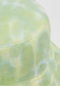 Vintage Supply - BUCKET HAT - Hatt - neon yellow/white/light green combo - 2