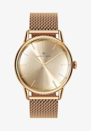 UHR SERENITY SHINE GOLD GOLD MESH 32MM - Horloge - sunray gold
