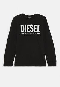 Diesel - TJUSTLOGO ML MAGLIET UNISEX - Long sleeved top - nero - 0