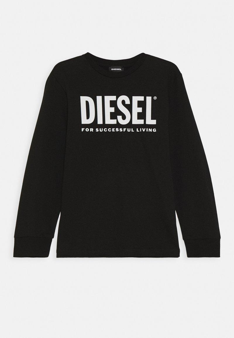 Diesel - TJUSTLOGO ML MAGLIET UNISEX - Long sleeved top - nero