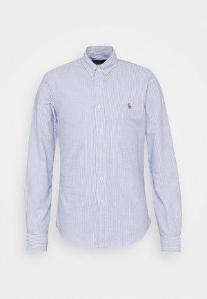 LONG SLEEVE SHIRT - Camicia - blue/white