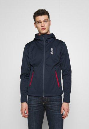 HOODED JACKET - Summer jacket - navy blue