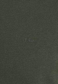 s.Oliver - Jednoduché triko - khaki/oliv - 7