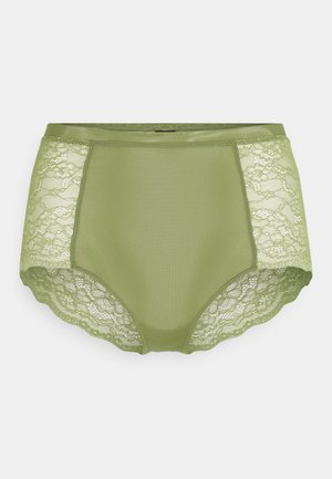 OMA BRIEF - Pants - khaki/green medium dusty unique