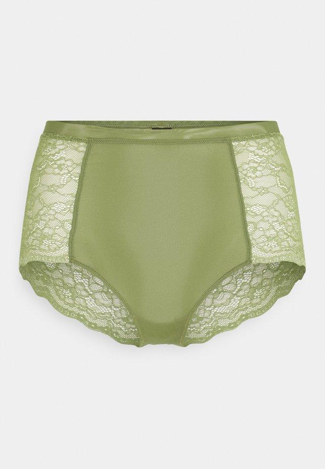 OMA BRIEF - Onderbroeken - khaki/green medium dusty unique