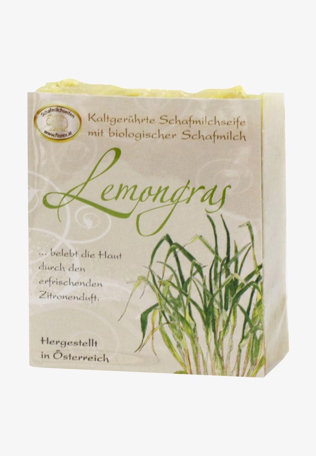 KALTGERÜHRTE SCHAFMILCHSEIFE LEMONGRAS 150 G   - Soap bar - gelb