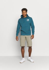 The North Face - HIGHEST PEAK HOODY - Hoodie - mallard blue - 1