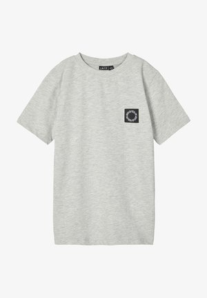 NLMNOONIE - T-Shirt basic - light grey melange