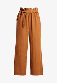 GAYA CULOTTE PANTS - Bukse - bronzed