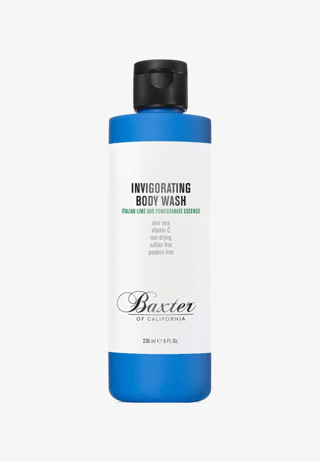 INVIGORATING BODY WASH 236ML - Docciaschiuma - blue italian lime and pomegranate